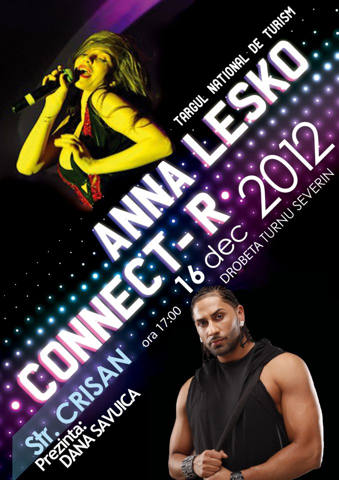 Afis Anna Lesko si Connect-R